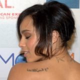 Zoe Kravitz's Arabic tattoo