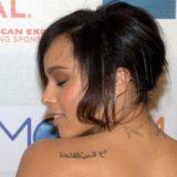 Zoe Kravitz's Arabic tattoo